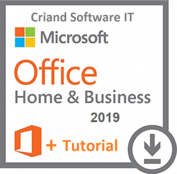 Microsoft Office Home and Business 2019-Licenta Permanenta + Tutorial