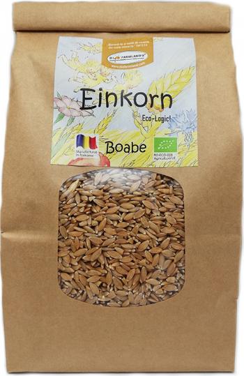 Boabe Einkorn alac 750g Bio/ECO Biofarmland Produse gourmet
