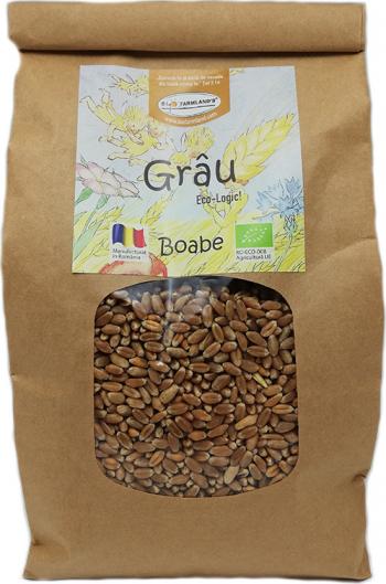 Boabe Grau 750g Bio/ECO Biofarmland Produse gourmet