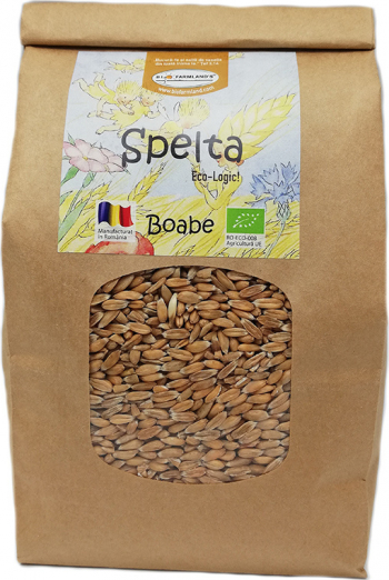 Boabe Spelta 750g Bio/ECO Biofarmland Produse gourmet