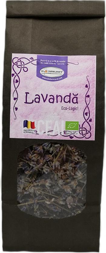 Ceai Lavanda 40g Bio/ECO Biofarmland Produse gourmet