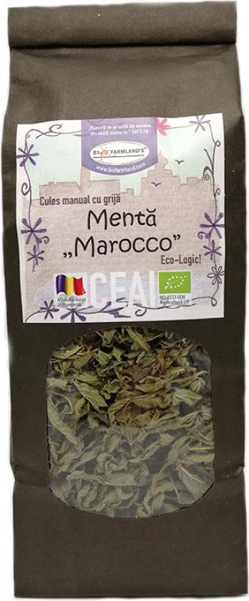 Ceai Menta Marocco 40g Bio/ECO Biofarmland Produse gourmet
