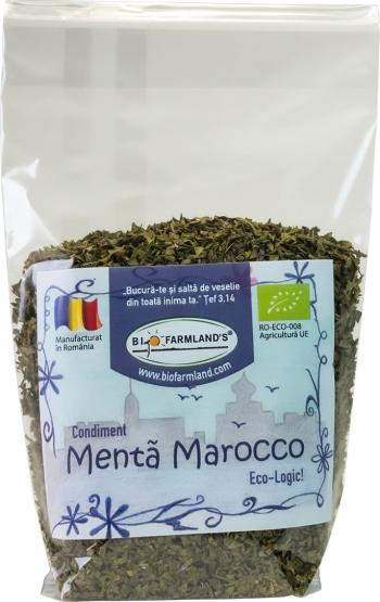Condiment Menta Marocco REFILL 20g BIO/ECO Biofarmland Produse gourmet