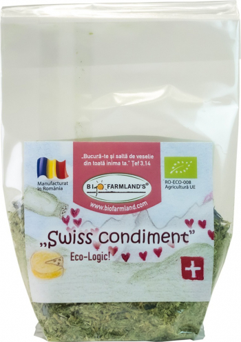 Condiment Swiss Condiment REFILL 15g BIO/ECO Biofarmland Produse gourmet