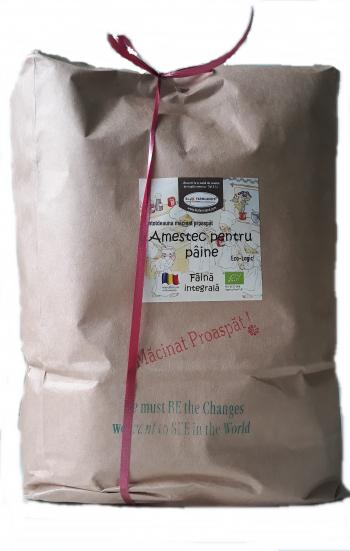 Faina Amestec pentru paine integrala 5kg Bio/ECO Biofarmland