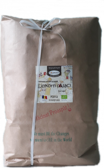 Faina Einkorn alac integrala 5kg Bio/ECO Biofarmland Produse gourmet