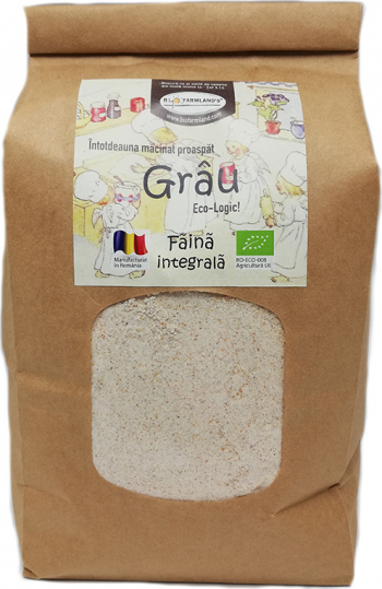 Faina Grau integrala 1kg Bio/ECO Biofarmland Produse gourmet