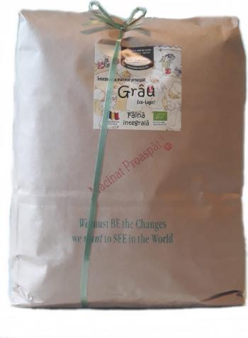 Faina Grau integrala 5kg bio/ECO Biofarmland Produse gourmet