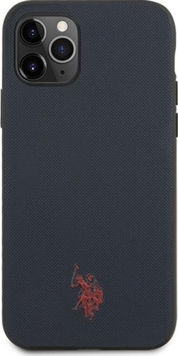 Husa Premium Originala Us Polo Assn iPhone 11 Pro Max Albastru Navy Huse Telefoane
