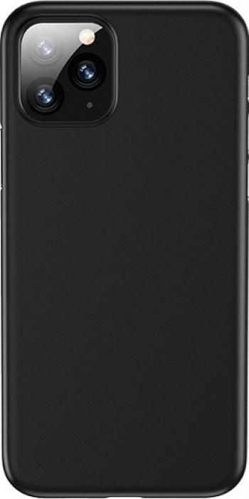 Husa Ultra Slim Usams iPhone 11 Pro Max Policarbonat Slim negru -ip11mxqr02 Huse Telefoane