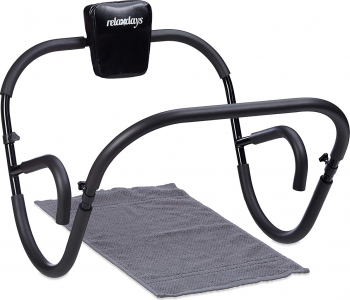 Aparat abdomene AB Roller Pliabil Negru Accesorii fitness
