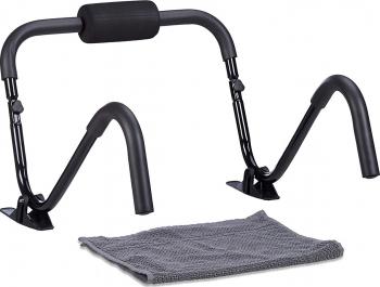 Aparat abdomene Roller Stand Negru Accesorii fitness