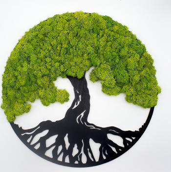 Arborele Vietii cu Licheni Decoriada 40 cm Tablouri