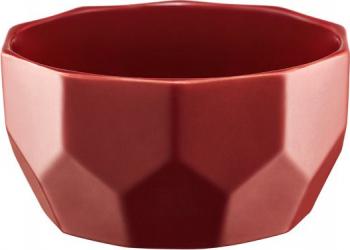 Bol 13cm rosu Diamond Vesela pentru masa