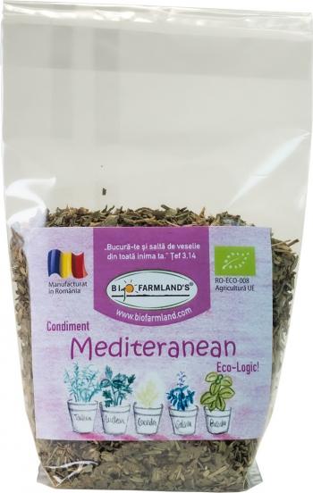 Condiment Amestec Mediteranean REFILL 15g BIO/ECO Biofarmland Produse gourmet