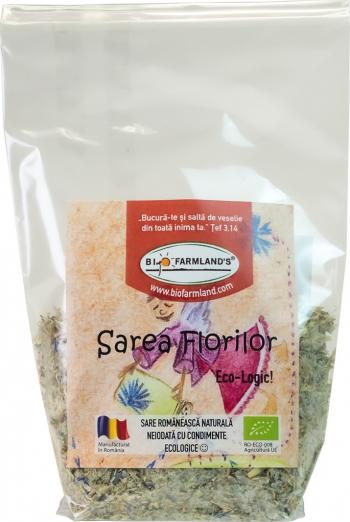 Condiment Sarea Florilor 60g REFILL Bio/ECO Biofarmland Produse gourmet
