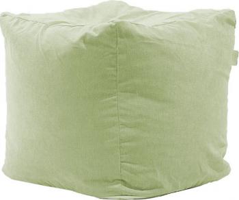 Fotoliu Pufrelax Taburet Cub Gama Premium - Light Olive cu husa detasabila textila umplut cu perle polistiren Fotolii
