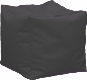 Fotoliu Taburet Cub XL - Dark Grey GAMA PREMIUM PU umplut cu perle polistiren Fotolii