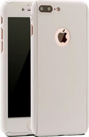 Husa Argintie cu Protectie 360 Grade + Folie de Sticla - iPhone 11 PRO Huse Telefoane