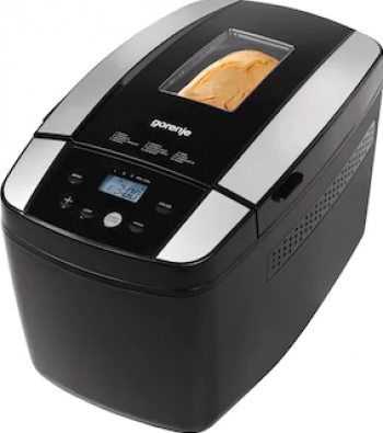 Masina de facut paine GORENJE BM1210BK 12 programe 800W 1200 g Negru Masini de paine