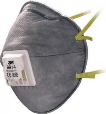Semimasca de protectie FFP1 3M and trade 9914 impotriva particulelor Masti chirurgicale si reutilizabile
