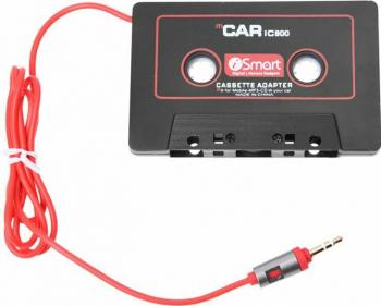 Adaptor AUX caseta audio la Mufa Auxiliar Jack 3.5mm