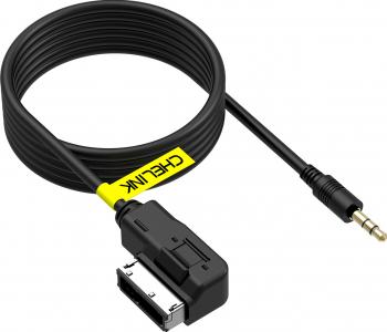 Cablu Adaptor AUX jack 3.5 AMI MMI AUDI VW