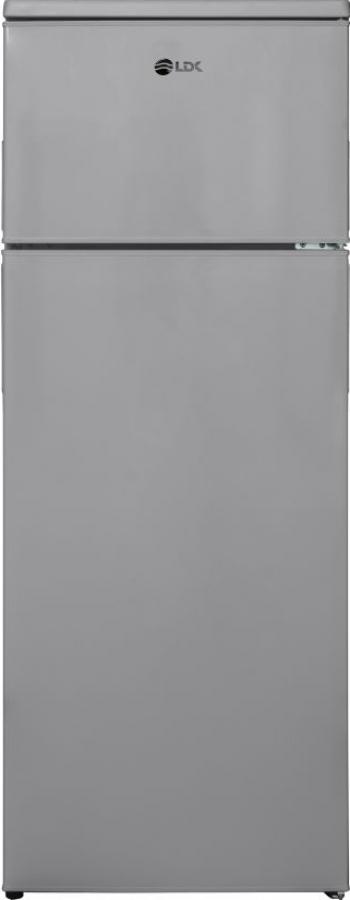 Frigider LDK LF 220 GN Clasa F Capacitate 213 l H 144 cm Argintiu Frigidere Combine Frigorifice