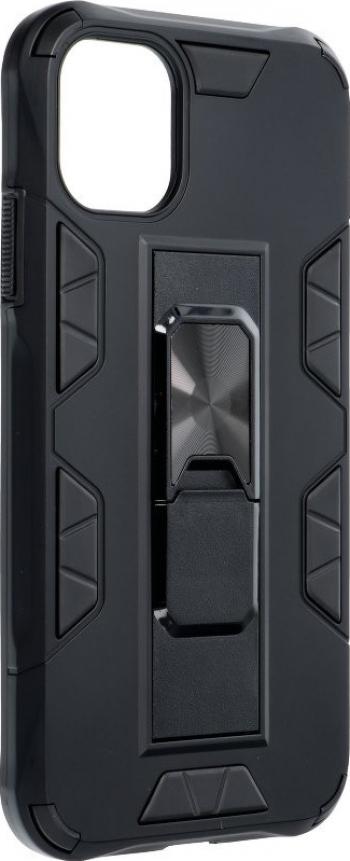 Husa Premium Upzz Defender Antishock Compatibila Cu iPhone 11 Pro Max negru -stand Magnetic Pe Spate Huse Telefoane