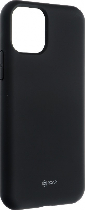 Husa Spate Silicon Roar Jelly Compatibila Cu iPhone 11 Pro Max Negru Huse Telefoane