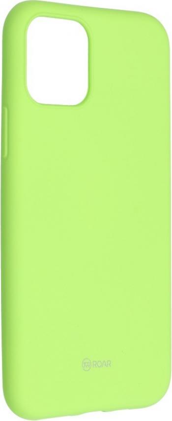 Husa Spate Silicon Roar Jelly Compatibila Cu iPhone 11 Pro Max Verde Lime Huse Telefoane