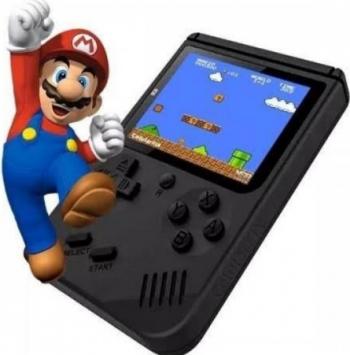 Joc Tetris Gameboy 400 in 1 Negre Specificatia consolei de joc Retro FC Handheld Jucarii