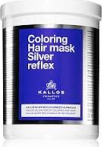 Masca Silver Reflex Kallos 1000 ml Tratamente de par
