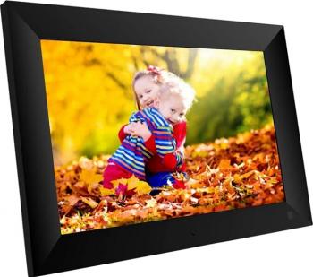 Rama foto digitala WIFI Techone and reg ZN-DP1002 10 inch touchscreen 800x1280 HD IPS aplicatie Frameo negru Rame Foto