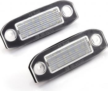 Set 2 Lampi LED numar Volvo S80 XC90 S40 V60 XC60 V70 C70