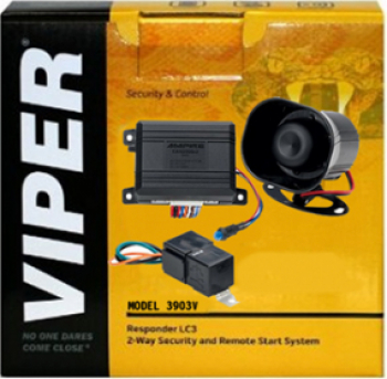 Sistem de securitate auto digital Viper 3901V Alarme auto si Senzori de parcare