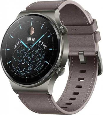 Smartwatch Huawei Watch GT 2 Pro 46mm Classic Leather Grey