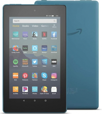 Tableta Amazon Fire 7 Quad-Core 1.3 GHz 1GB RAM 16GB Wi-Fi Blue
