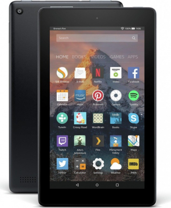 Tableta Amazon Fire 7 Quad-Core 1.3 GHz 7 1GB RAM 16GB Wi-Fi Black