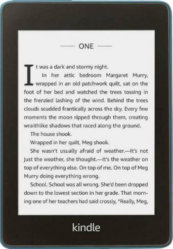 eBook Reader Amazon Kindle Paperwhite 2018 300 ppi Rezistent la apa 8GB Blue eBook Reader