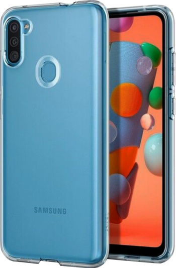 Husa din Gel Transparenta Ultra SIlicon Optim Clear Compatibila Samsung Galaxy M11