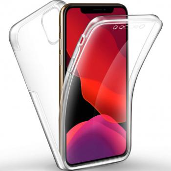 Husa Full TPU 360 fata + spate pentru Apple Iphone 11 Pro Transparent Huse Telefoane