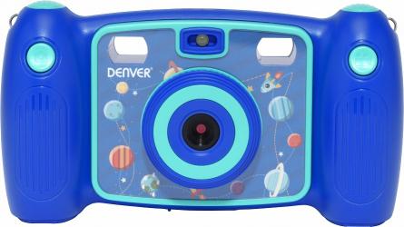 Camera Foto Digitala pentru Copii Denver KCA-1310 Full HD 7 Efecte video si foto include joc Snake Albastru