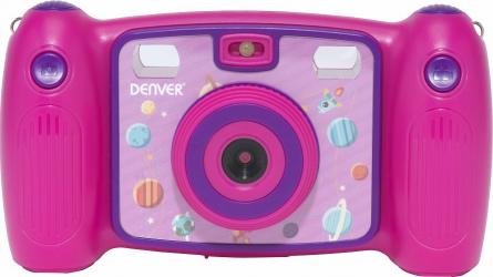 Camera Foto Digitala pentru Copii Denver KCA-1310 Full HD 7 Efecte video si foto include joc Snake Roz