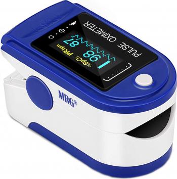 Pulsoximetru MRG M-AD805 Display digital Pentru deget Alb / Albastru Pulsoximetre
