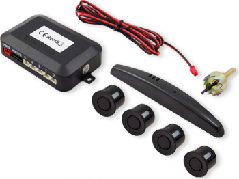 Set senzori de parcare Savio CP-02 kit 4 senzori display LED si avertizare sonora Negru Alarme auto si Senzori de parcare