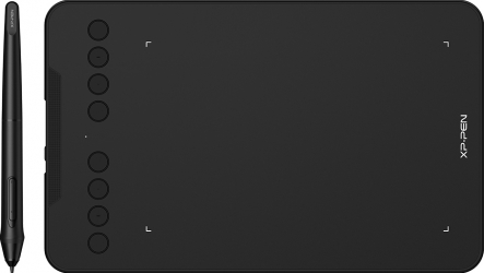Tableta grafica XP-PEN Deco Mini7 7x4.37 Tilt OTG + Android USB Type-C 8192 niveluri presiune include 10 varfuri de rezerva Tablete Grafice