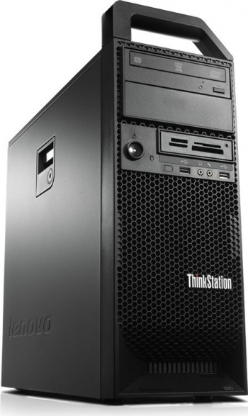 Workstation LENOVO ThinkStation S30 Intel Xeon 4-Cores E5-1620 3.80 GHz 8 GB DDR3 500 HDD Servere Refurbished Reconditionate