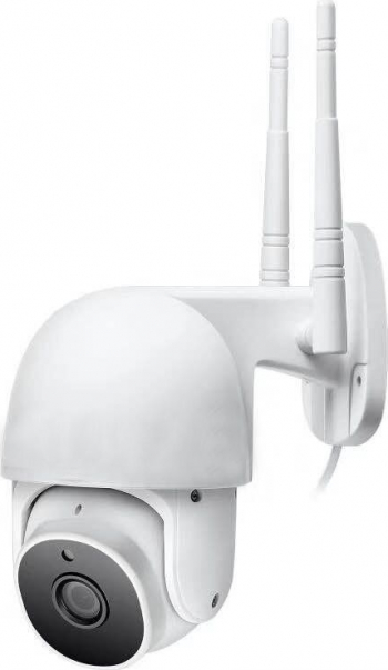 Camera supraveghere video exterior wireless Winpossee WP-107T FullHD 1080P rotire 360 grade aplicatie telefon IR 20m microfon Camere de Supraveghere
