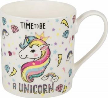 Cana ceramica Time be a unicorn 350 ml Cani, Cesti si Pahare